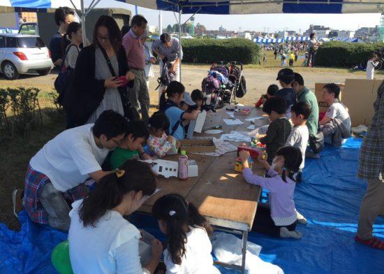 自治会や地域のイベントでも子供たちに大人気!
